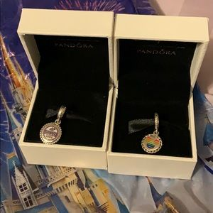 Disneyland Park Exclusive Pandora Charm Bundle